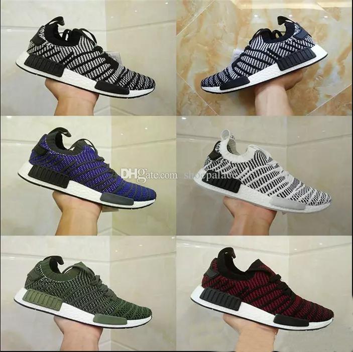 2017 New Nmd Xr1 R1 Mesh Triple White Black Grey Zebra Men Shoes ... aaaf47152b