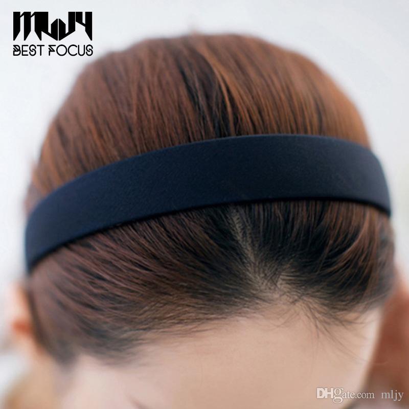 MLJY Wide Plastic Headband Hair Band Accessory Wholesale Satin Headwear hair clasp hair accessories drop shipping