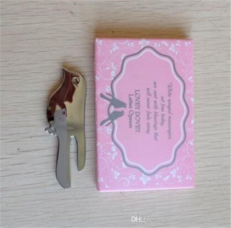 Wedding Favor Love Birds Letter Opener Souvenirs For Wedding Party