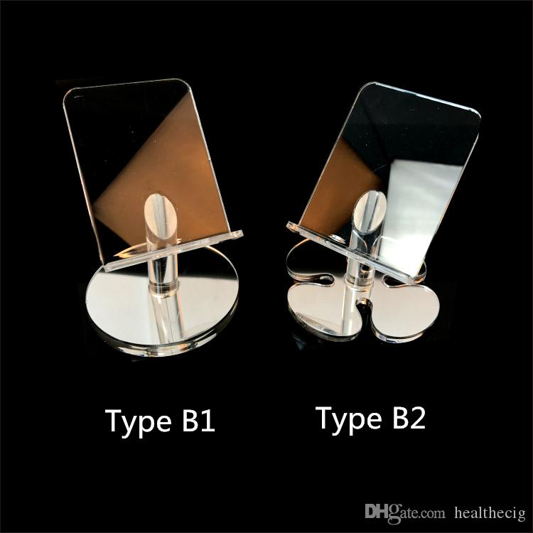 Universal acrylic mobile phone display stand cell phone Mount Holder for iphone smartphone android Phone accessories wholesale