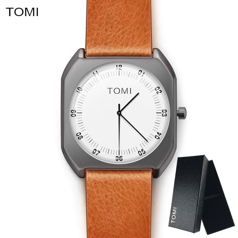 Wholesale-  New Fashion luxury Elegant woman Watches Simple Ultra Thin dial Casual Male Quartz Clock Man Watch Wristwatch Gift