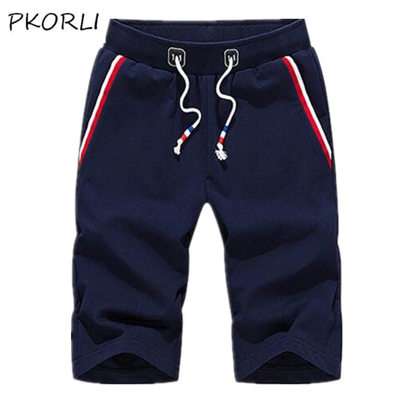 9f0460387a9c4 Wholesale- Pkorli 2017 Summer Fashion Jeans Shorts Men Casual Mens ...