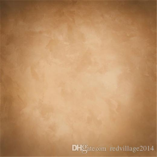 2019 Vintage Light Brown Solid Color Vinyl Backdrop