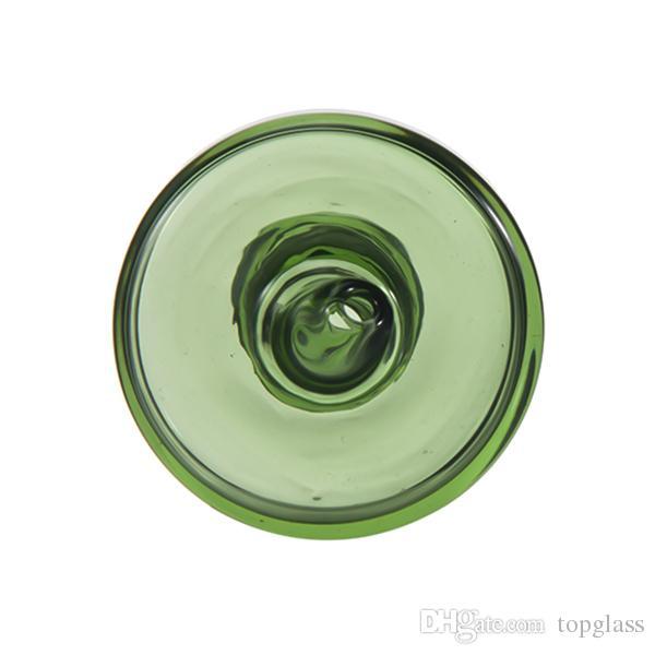 4MM 석영 깡패 못 손잡이 뚜껑, 보편적 인 착색 한 유리제 꼭지는 열 P 깡패, 석영 enail를 적합 할 수있다. 유리제 bongs 수도관 부속품