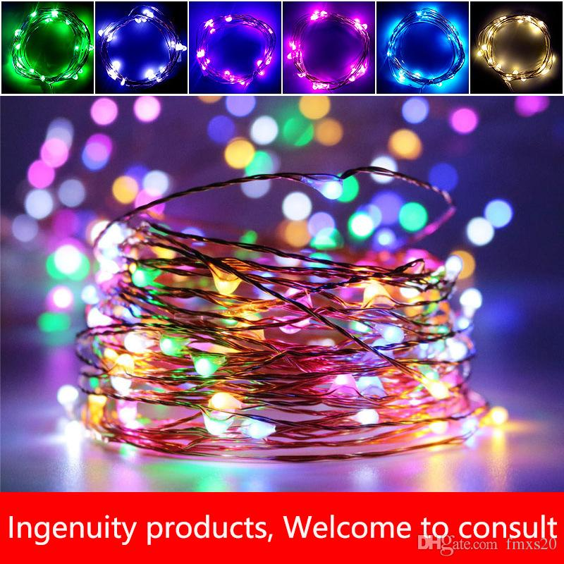 christmas led lights factory direct the new led christmas color lightscopper wire lights waterproof christmas decoration led light stri led string