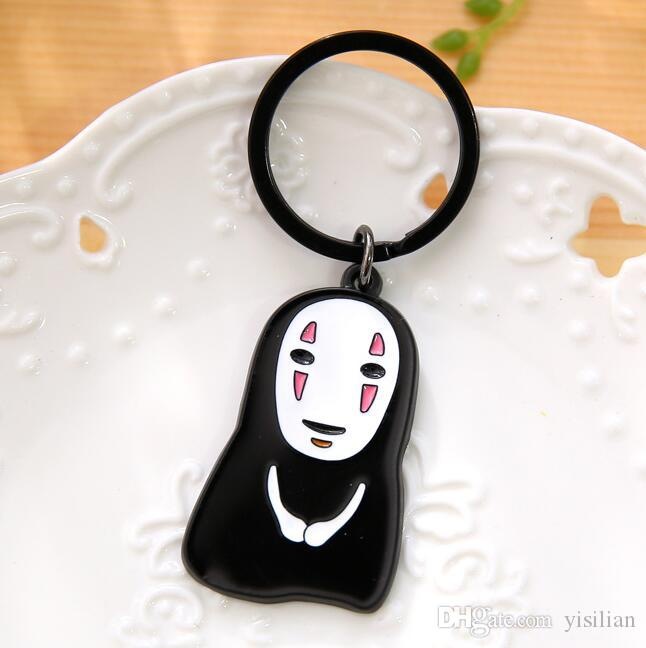 Cute No Face Male Key Ring Couple Key Chain Male Couple Pendant R185 Arts and Crafts