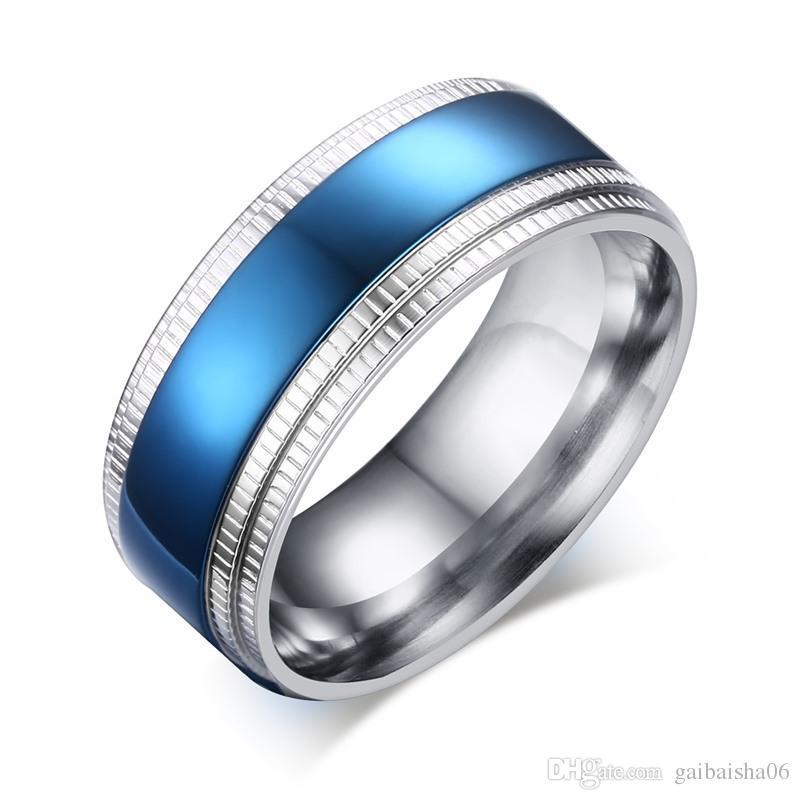 Blaue eheringe