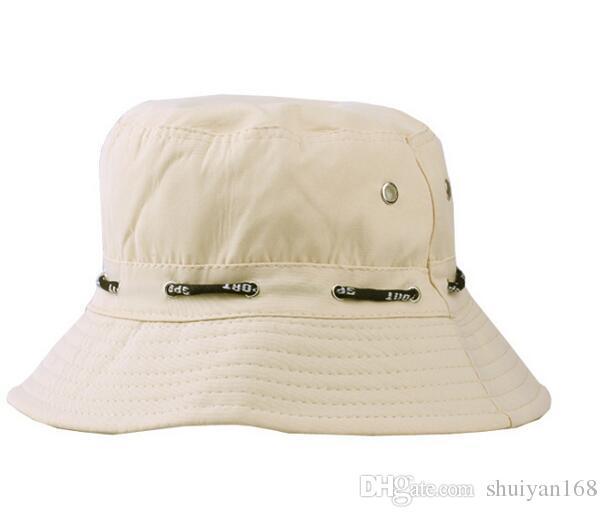 Скупые поля шапки Рыбак шапка ведро шляпы для женщин и мужчин дизайн шляпа Солнце шляпа спортивные шапки складной летняя шляпа аксессуары DHL