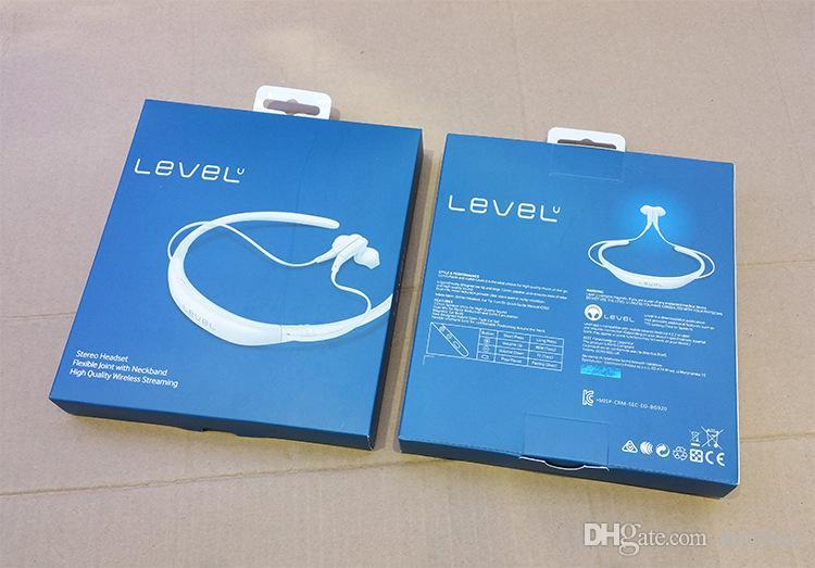 레벨 U BG920 스포츠 블루투스 헤드셋 CSR V4.1 삼성 아이폰을위한 무선 스테레오 넥 밴드 헤드폰 이어폰 모든 휴대 전화