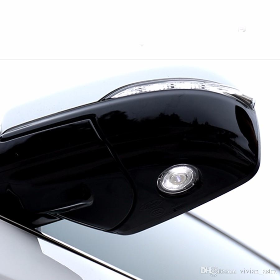 new logo projection rear view rearview mirror shadow light side lamp for Ford Kuga Escape Explorer Edge Fusion Mondeo 2016