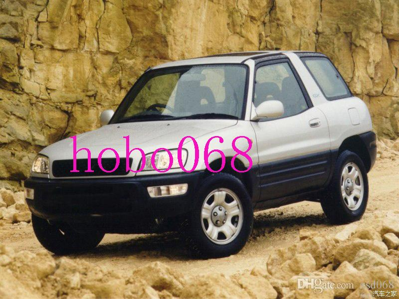 2XFor 1998-1999 Toyota RAV4 Car Auto Front Bumper Fog Driving Lights Housing COVER Lamp Housing