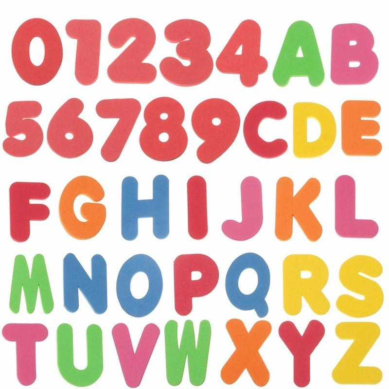 2018 Foam Letters Numbers Children Bath Tub Educational Baby Early