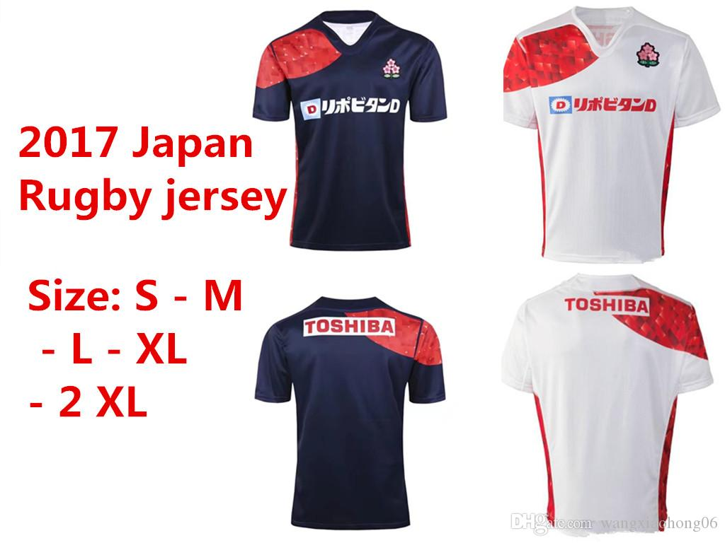 2017 Japan Rugby Jersey French 2016 Top Quality Rugby Shirts Training Shirts  Men Alternate Super World Cup Euro Size S-3XL Australia Irish New Zealand  ...