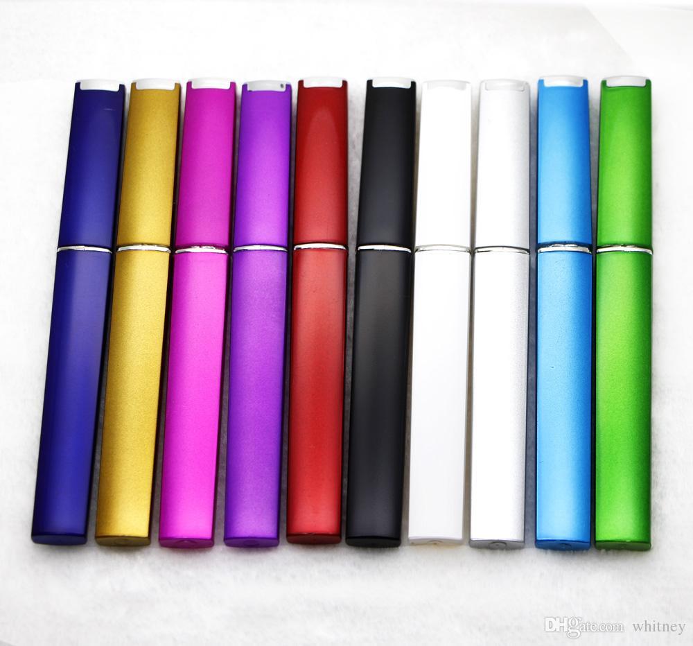 5000X Crystal Glass Arquivo de Prego Hard Protetive Case Plástico Hard Case 10 Cores Escolha # NF014T