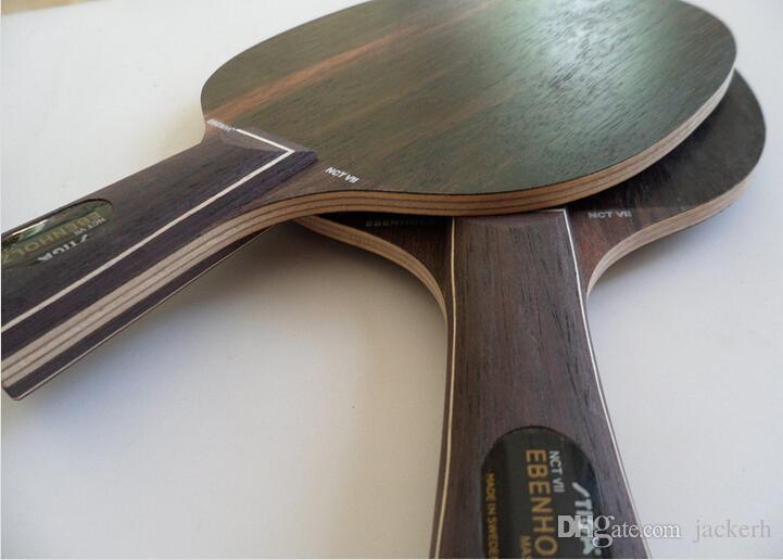 Stiga EBENHOLZ 7 / شفرة تنس الطاولة / مضرب تنس الطاولة / مضرب تنس الطاولة / تنس الطاولة المطاط / مقبض طويل