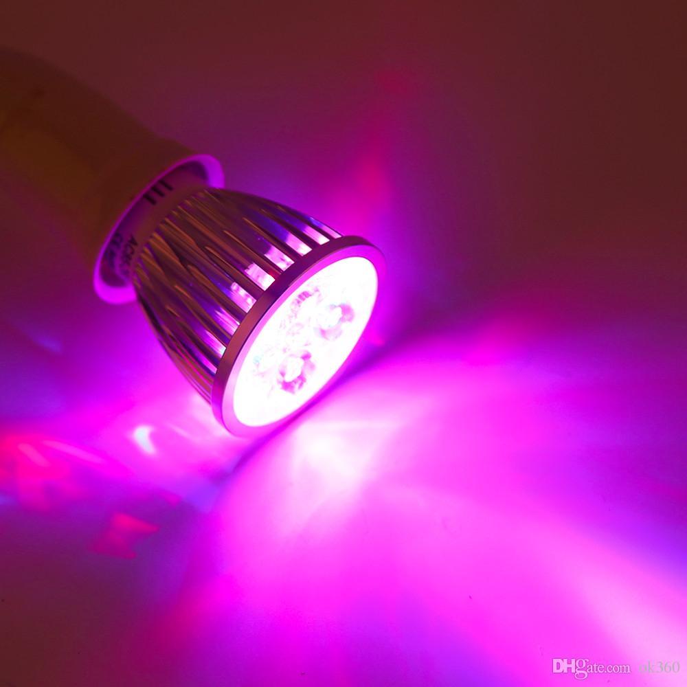 E27 / GU10 Bombilla LED Grow Lámpara 15W Spotlight LED Lámpara de Luz Vegetal Hydroponic Grow Bombillas Flower Garden Greenhouse Bombillas LED Luz de Acuario