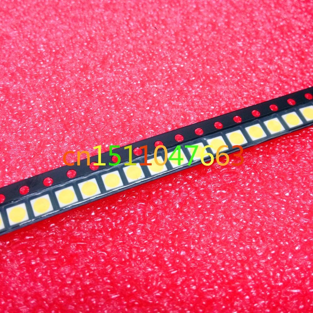 Back To Search Resultselectronic Components & Supplies Led 3030 Lamp Beads 1w Lcd Tv Backlight Lamp Beads 3v Cool White With Zener Pressure 100pcs