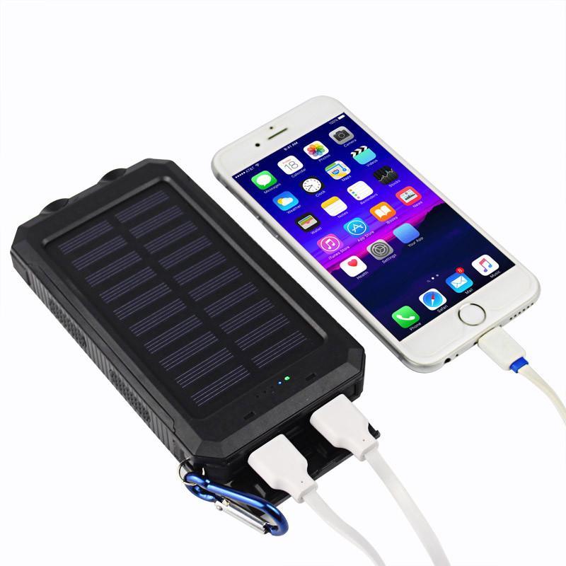 20000mAh 2 منفذ USB قوة البنك شاحن للطاقة بطارية احتياطية خارجية مع صندوق البيع بالتجزئة لفون باد سامسونج