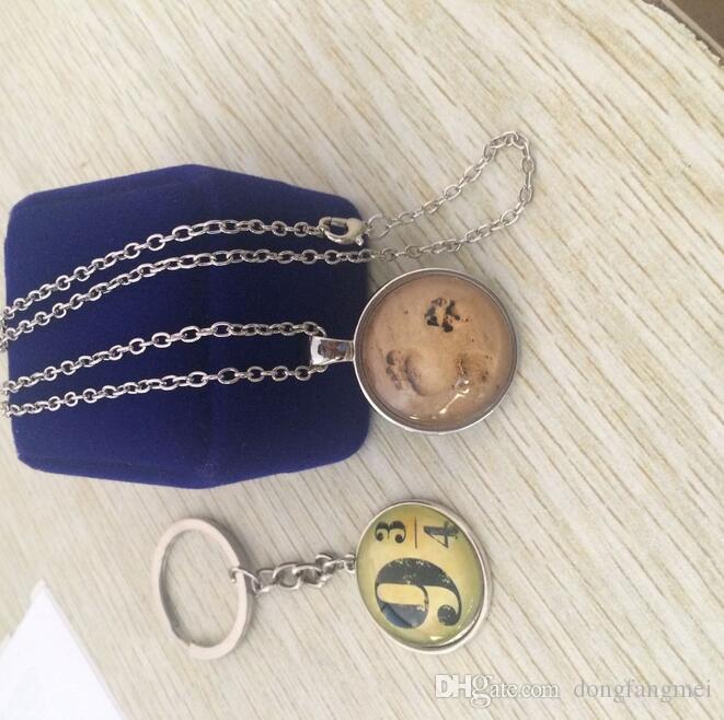 Бесплатная доставка Пляж Маленькие подвески Подвески Ретро Собака Ожерелья Драгоценные камня WFN329 С Цепочкой Смешать Заказать 20 штук