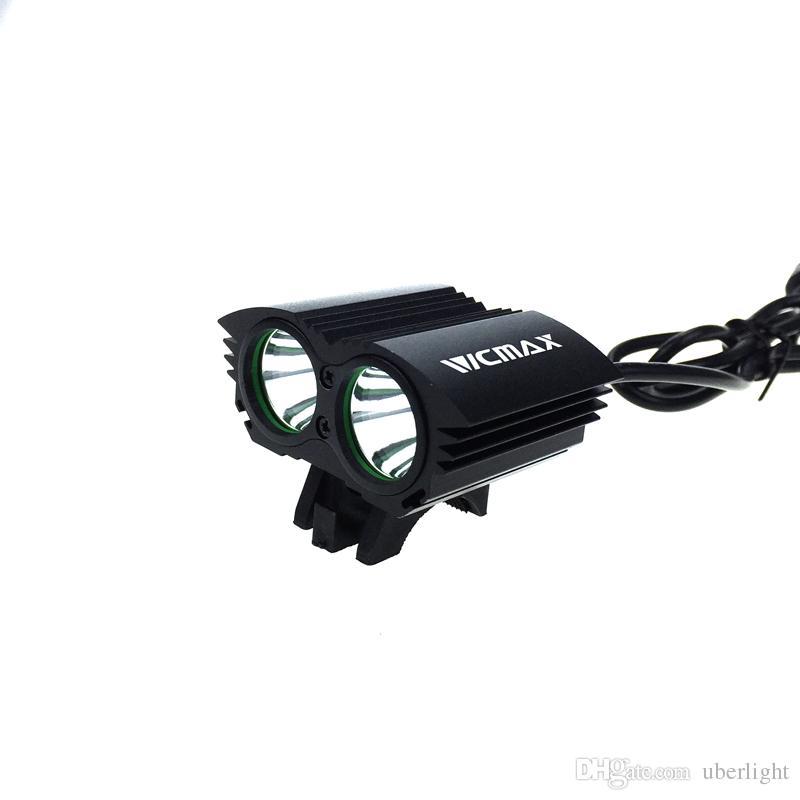Su geçirmez 5000LM X2 XM-L T6 LED Bisiklet USB Başkanı Işık Lambası balıkçılık Far + O-ring Accesorios para bicicletas
