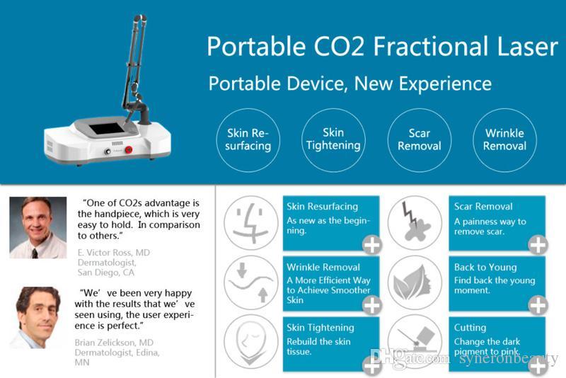 جودة عالية الجلد المنتج تجديد جزئي ليزر CO2 الوجه العناية حمة إزالة تجديد آلة SPA