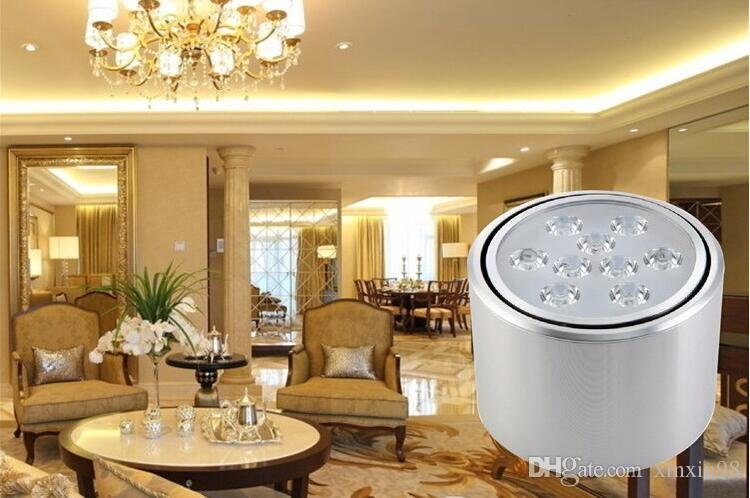 Factory Wholesale price Dimmable 5W/7W/9W/12W Warm White/Pure White/Cold White Surface Mounted Led Down Light AC85-265V
