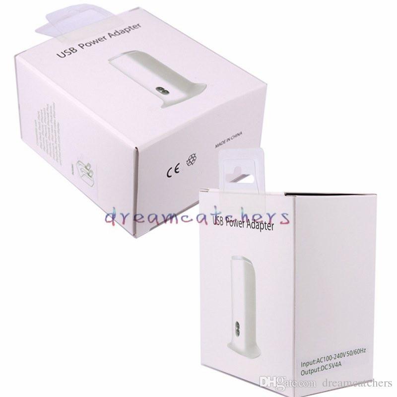유니버설 5V 4A 20W 5 포트 USB 벽 충전기 미국 EU 영국 플러그 AC 전원 어댑터 아이폰에 대 한 삼성 HTC LG 휴대 전화