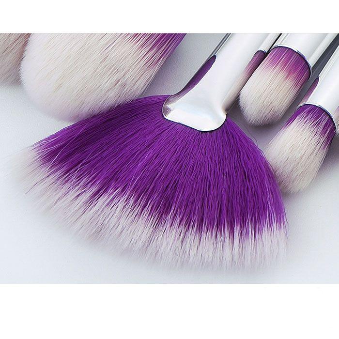 New arrival purple hair purple handle makeup brushes makeup tools dhgate vip seller