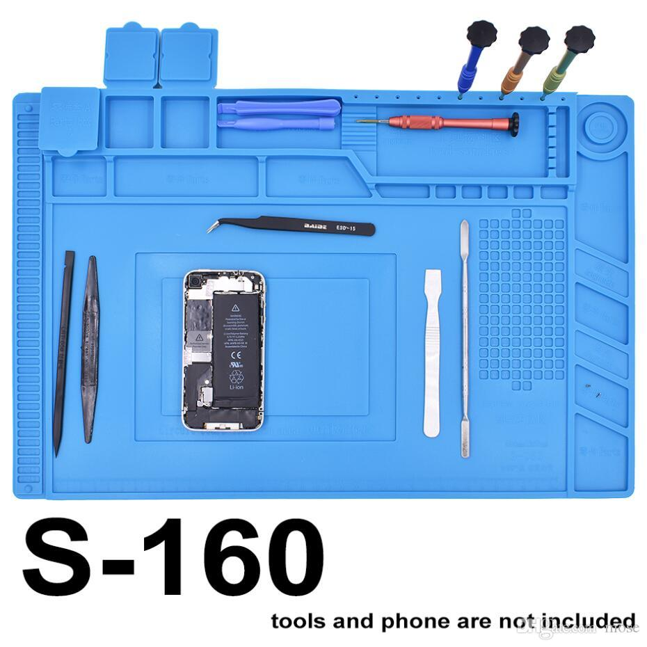 New s 160 magnetic 45cm 30cm mobile phone repair anti static mat new s 160 magnetic 45cm 30cm mobile phone repair anti static mat advanced diy tool esd mat welding bench tape pad cell phone repair online cell phone 1betcityfo Gallery
