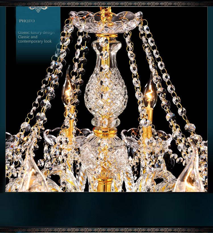 Crystal Light Chandelier Lighting High Quality Top Model Beautiful Luxury Chandeliers Top Grade Crystal for Luxury House Living