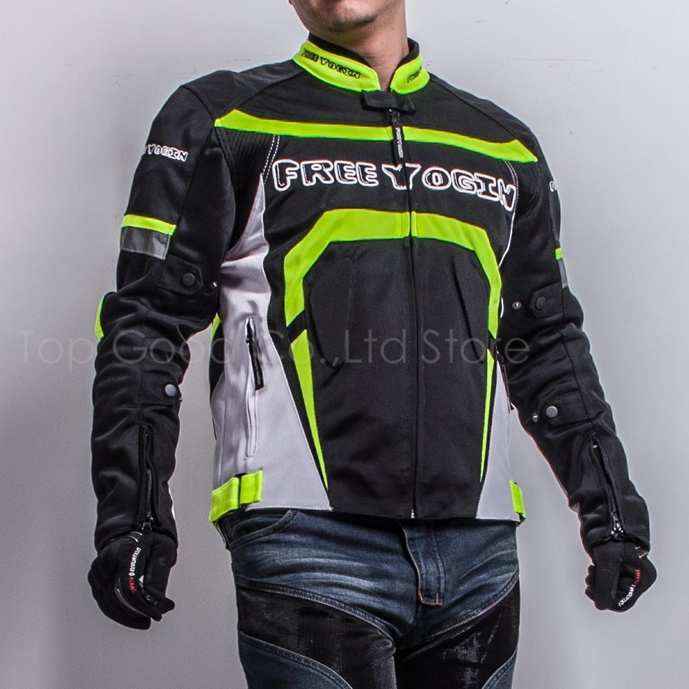 Compre Para Kawasaki Chaqueta Abrigo Yamaha Motocicletas Chaquetas De Malla  Hombre Montar Abrigo De Montar Ropa De Verano Transpirable Protección Dura  Con ... 952e250582514