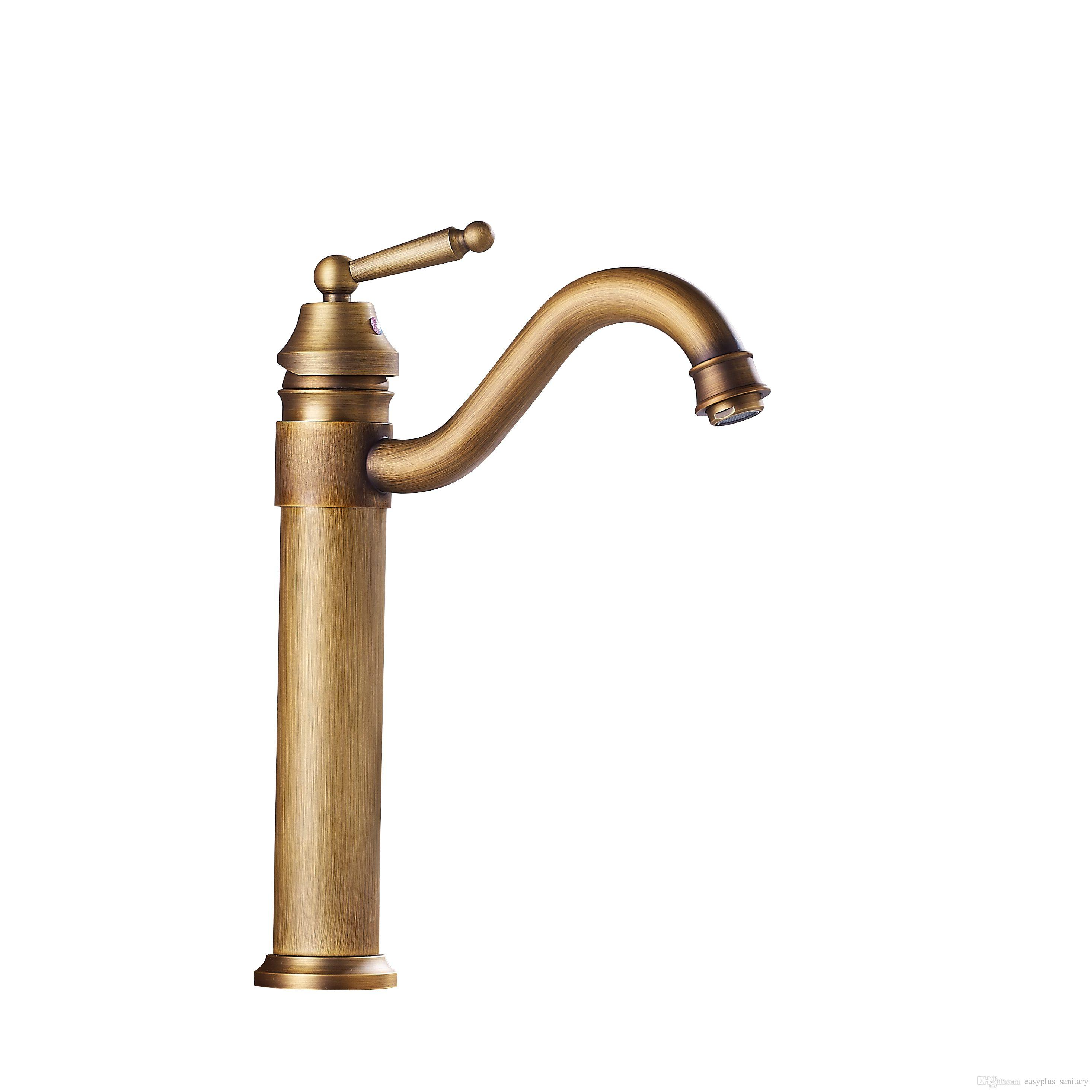 new in and faucets home hole luxury water shower golden from hot color item mixer single fashion kitchen brass cold sink taps copper faucet