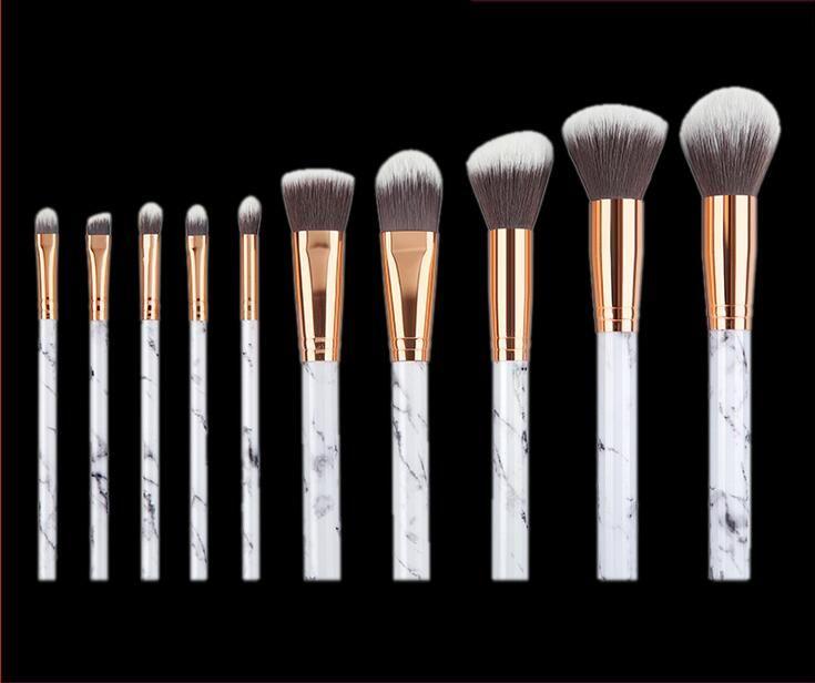 Marble Makeup Brush Marbling Pro Eye shadow brushes Marble Brush Multi function BB Cream Brusher Eyeline Cosmetic tool drop ship