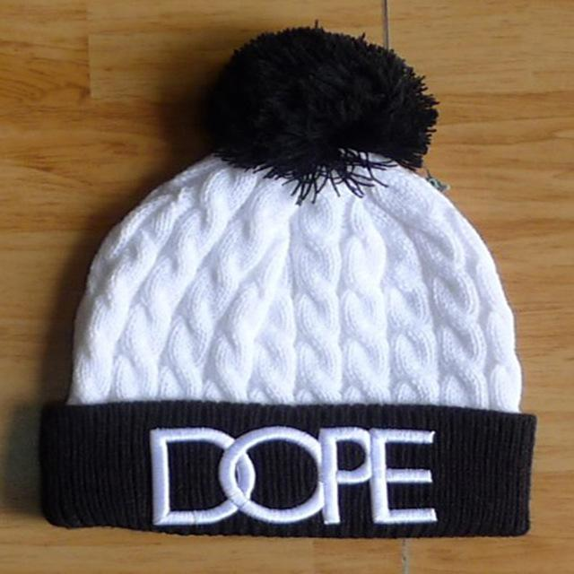 5312cb88289 4style Pom Poms Winter Hat For Men Women Fashion Crochet Winter Warm Hat  Cotton Soft Beanies Knitted Beanies Cap Thick Flat Caps Trucker Caps From  ...