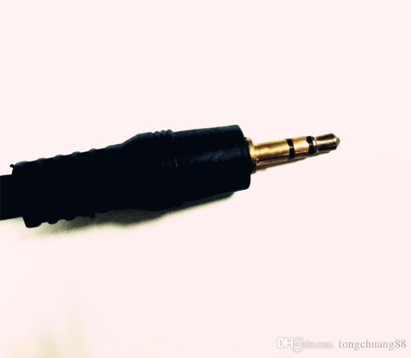 1 Meter langes Mini-3,5-mm-Audio-Stereo-AV 1 bis 2 3,5-mm-AUX-Leitung bis 3,5-AUX-Lautsprecherleitung für TV / Computer / MP3 / DVD