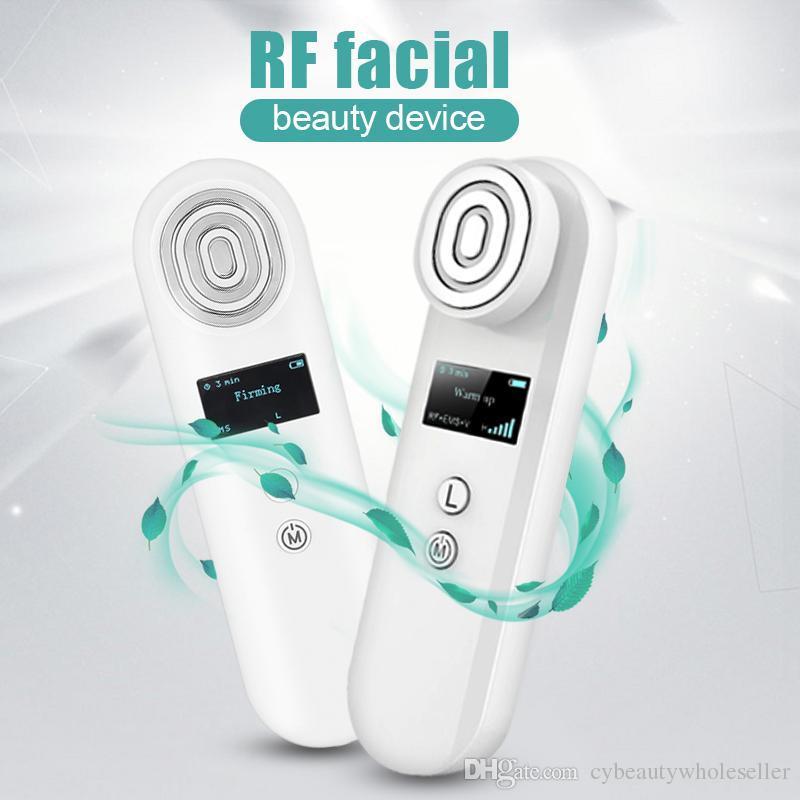 ЭМС тела RF лицевая машина массажа радиочастотного ЭМС удаления морщинки кожи RF лифтинг вибро массажеры