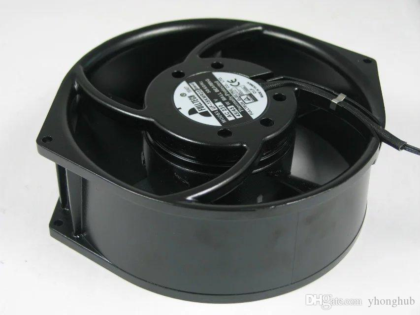 UF-15KMR23 BWHF AC 23V 45W 2-wire 110mm 172x150x55mm Server Round Cooling fan