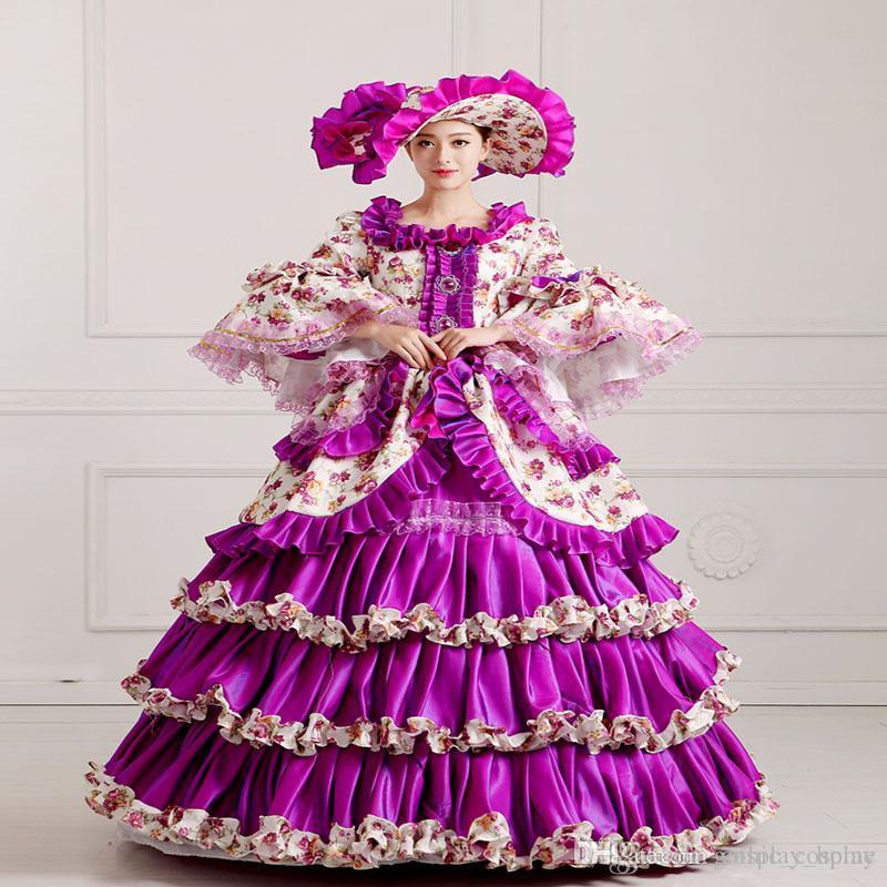 Increíble Vestidos De Dama Medieval Festooning - Colección del ...