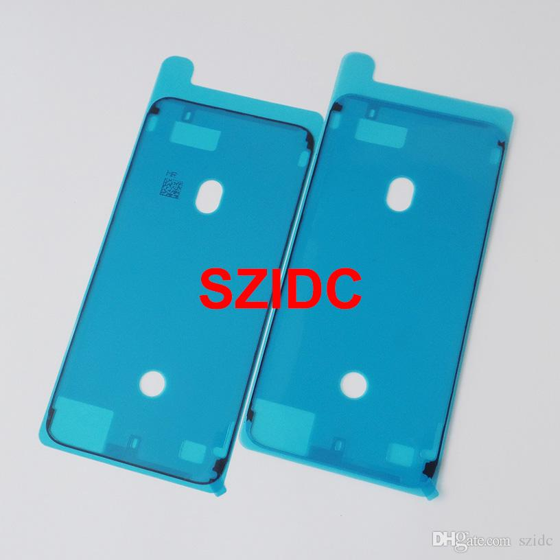 Free DHL EMS Original New Waterproof Adhesive Sticker For iPhone 7 Plus LCD Front Housing Frame Wholesale