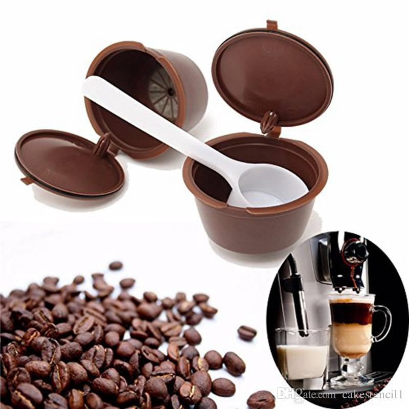 best quality refillable dolce gusto coffee capsule nescafe. Black Bedroom Furniture Sets. Home Design Ideas