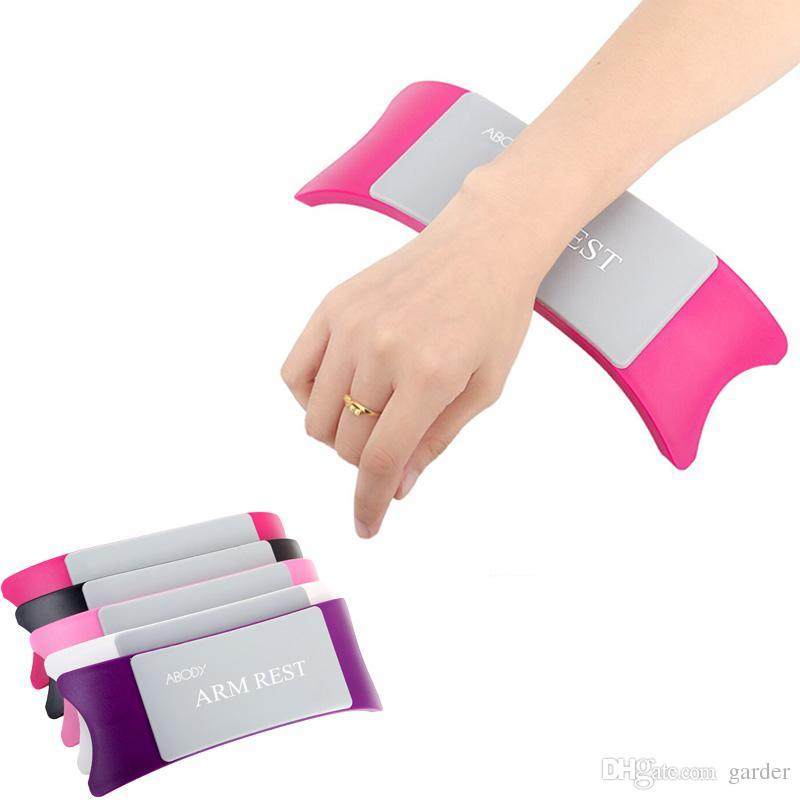 Wholesale Comfortable Nail Art Pillow Hand Holder Cushion Plastic ...