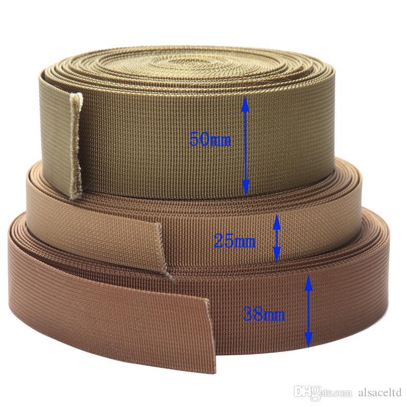 Mil-Spec Naylon Dokuma 50mm ağır ve güçlü kayış / çemberleme / paketleme / tırmanma / paraşütle atlama ve tüm DIY etkinliği için