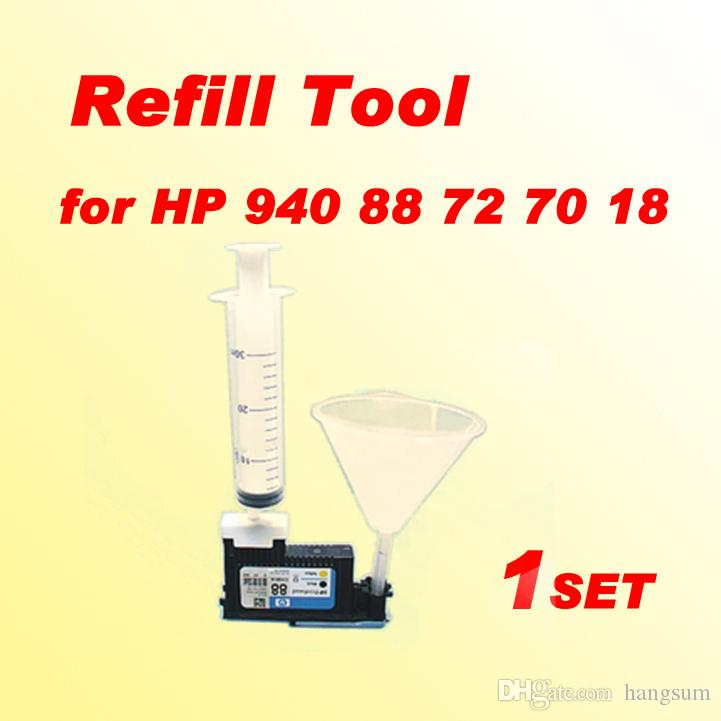 1x printhead cleaning kit refill tool compatible for HP 18 70 72 80 81 83  88 89 90 91 940 941 k8600 print head