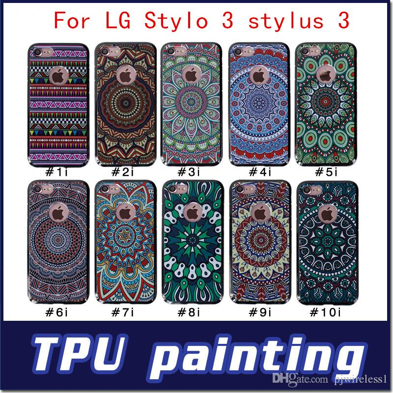 lg stylo 3 plus case. Cool For Lg G6 2017 Stylo 3 Stylus Plus Metropcs Arrivals 3d High Quality Soft Ultra Thin Tpu Print Back Cover Case Protective Cell Phone Cases Reiko