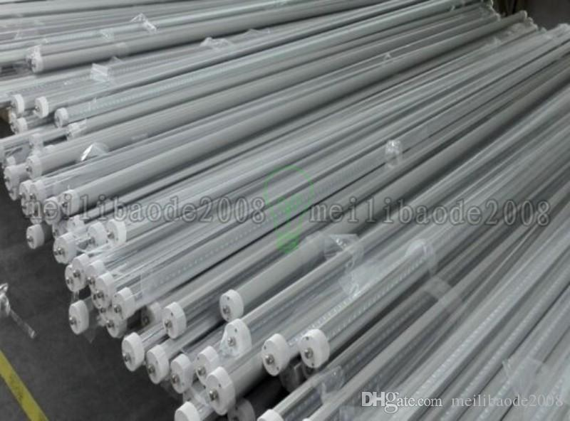 UL R17D T8 Led 튜브 4 피트 5 피트 6 피트 8 피트 V 모양의 Led 라이트 튜브 270 각도 쿨러 조명 AC 85-265V 무료 배송 MYY