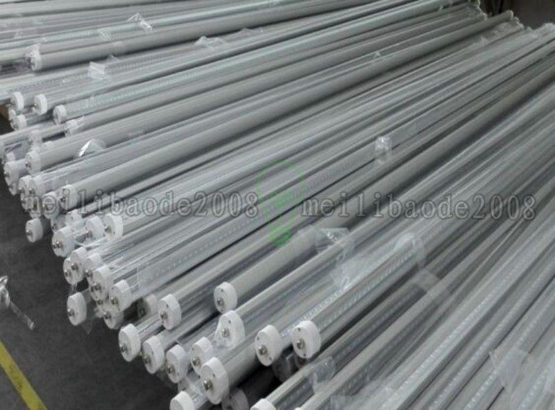 UL R17D T8 Led Tube 4ft 5ft 6ft 8ft V-Shaped Led Light Tube 270 Angle Cooler Lighting AC 85-265V MYY