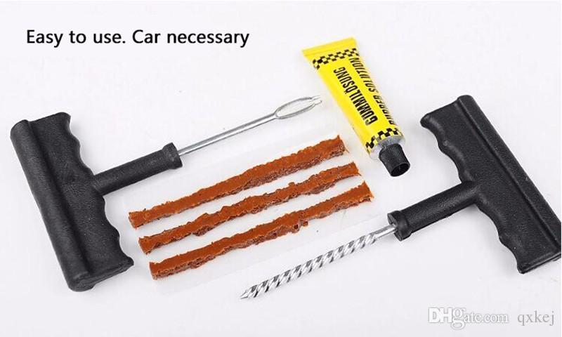 Auto Car Tire Repair Kit Car Bike Auto Tubeless Tire Tyre Puncture Plug Repair Tool Kit Diagnostic-tool Car Accessories