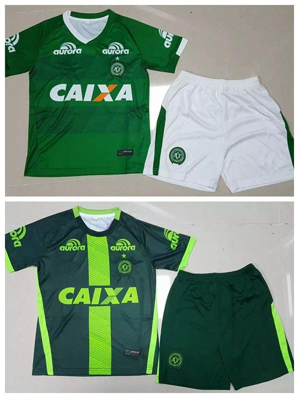 2019 2016 2017 Brazil Club Chapecoense Kids Jersey 16 17 Home Away 3rd  Green Best Quality Boys Sports Shirts Jeresys SetsShirt+Shorts From  Xx416764580 ddf0ccb13