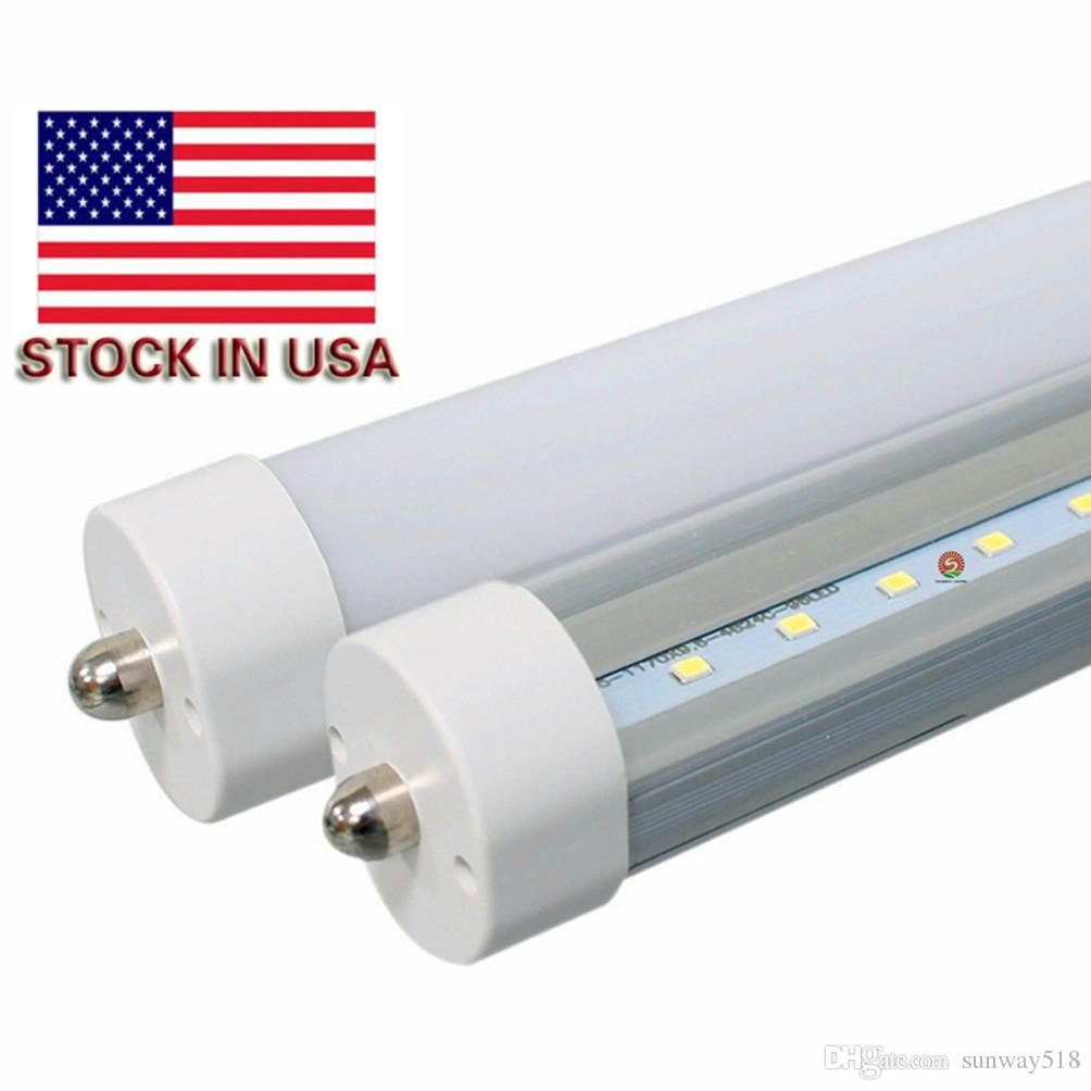 stock in usa led tubes  foot fa w t tube light power bright  - stock in usa led tubes  foot fa w t tube light power bright indoor lampcorn led strip led lighting m ft led tube led tube light bulbs from