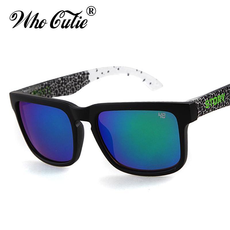 Brand Designer Spied KEN BLOCK Sunglasses Helm Sunglasses Men Square ... 4ff8355a3a